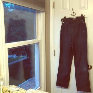 True vintage 1940s Levi's jeans